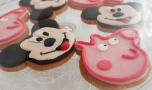 galletas decoradas celebración personajes dibujos animados