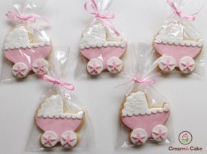 GALLETA DECORADA BAUTIZO NIÑA