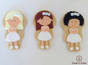 galletas decoradas comunion niña