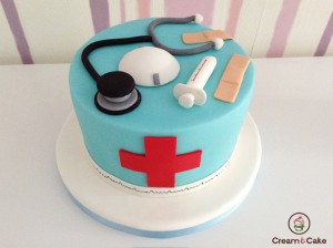 TARTA DECORADA DOCTOR