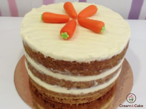 layer cake pastel vegetariano