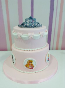 tarta princesita cumpleaños