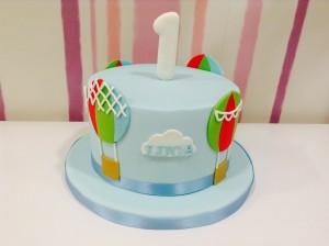 tarta cumple niño pequeño decorada