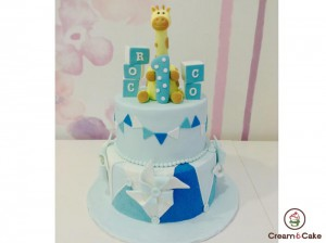 tarta regalo cumple decorada