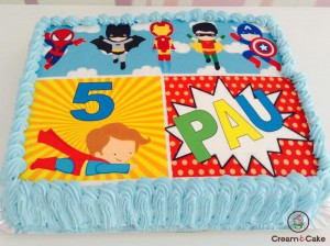 TARTA-TRADICIONAL-CUMPLE-DECORADA-FOTOS-SUPER-HEROES