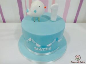 tarta cumple niño de un año