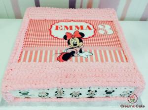comprar tarta cumpleaños tradicional barata con imagenes disney