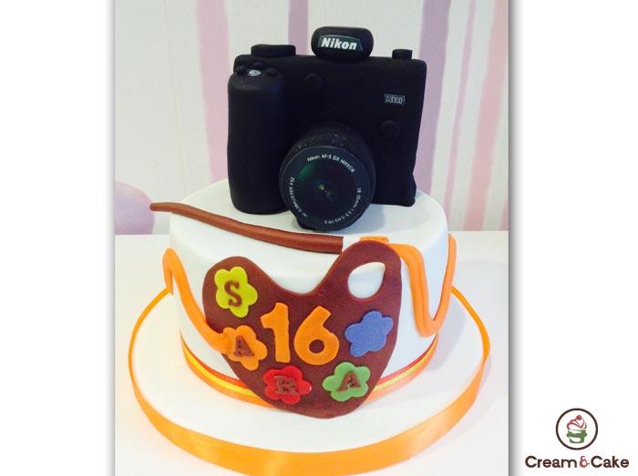 Tartas aniversario cream and cake pasteleria y for Cream valencia fotos