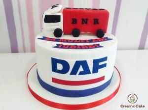 tarta aniversario cumpleaños camionero