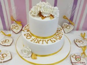 tarta celebracion bodas de oro