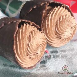 comprar pastel CONO DE CHOCOLATE RELLENO DE TRUFA, pasteleria en l'alcudia valencia