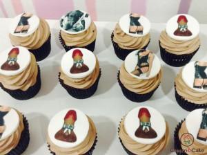 regalar cupcakes dulces para despedida soltera soltero